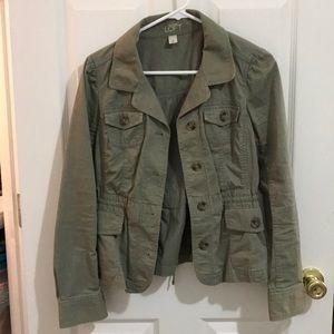 Ann Taylor Army Jacket